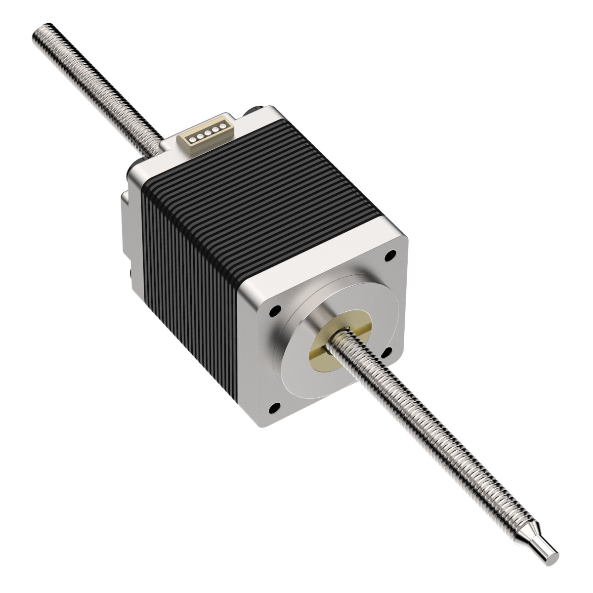 Stepper Motor Linear Actuator - Non-Captive - SMA-8SN-012024-2.5V