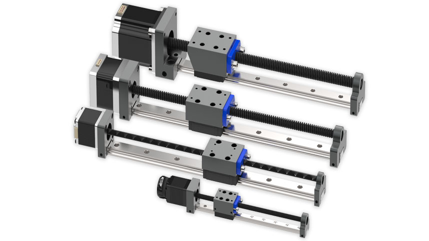 Low Profile and Compact - Profile Rail Linear Actuators